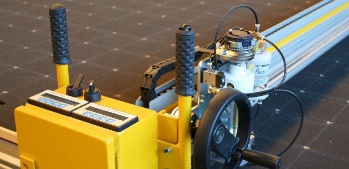 Flat glass cutting technology