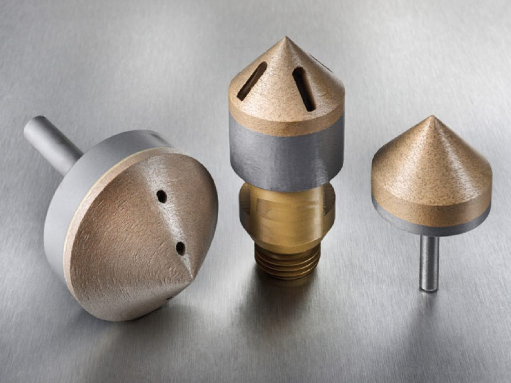 Complete cone countersink. For any type of glass.