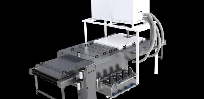 Vertical and horizontal glass washing machines