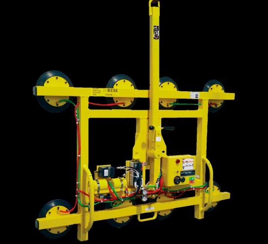 Maintenance and TÜV inspection of vacuum lifting devices